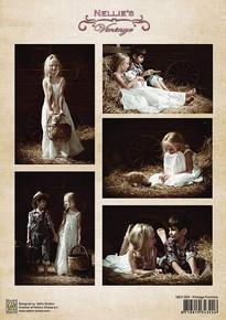 Nellie's Vintage Prints- Vintage Farmers NEVI059