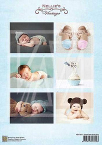 Nellie's Vintage Prints- Sweet Little Baby Boy NEVI076