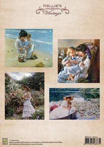 Nellie's Vintage Prints- Posing NEVI021
