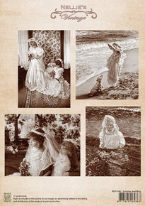 Nellie's Vintage Prints- Summer Wedding NEVI040