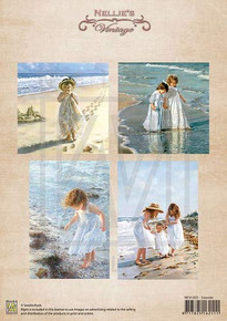 Nellie's Vintage Prints- Seaside NEVI005