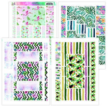 Yvonne Creations Happy Tropics Printed Figure Cards A4 Pack YCFC20002