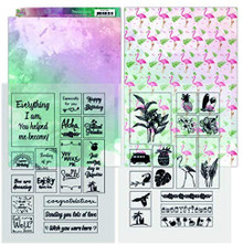 Yvonne Creations Happy Tropics Printed Sheets A4 Pack YCMC1002