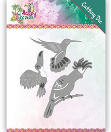 Yvonne Creations Happy Tropics- Exotic Birds YCD10175