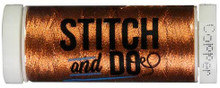 Stitch and Do Embroidery Thread 200 m Roll- Copper SDHDM0B
