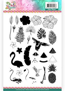 Yvonne Creations Happy Tropics- Clear Stamps YCCS10051