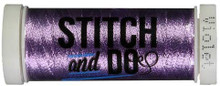 Stitch and Do Embroidery Thread 200 m Roll- Violet SDHDM06