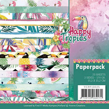 Yvonne Creations Happy Tropics- 6'x6' Paperpack YCPP10025