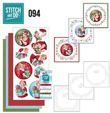 Stitch and Do 94 Embroidery on Paper kit Card Making Kit