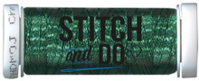 Stitch and Do Embroidery Thread 200 m Roll- Christmas Green SDHDM0J