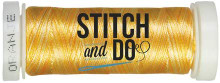 Stitch and Do Embroidery Thread 200 m Roll- Oranje Blend SDCDG009