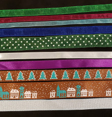 Christmas Ribbons Variety Pack- Non-Traditional Colors