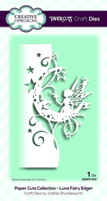Creative Expressions Paper Cuts Collection Luna Fairy Edger Die