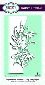 Creative Expressions Paper Cuts Collection Daisy Fairy Edger Die