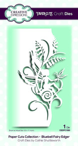 Creative Expressions Paper Cuts Collection Bluebell Fairy Edger Die