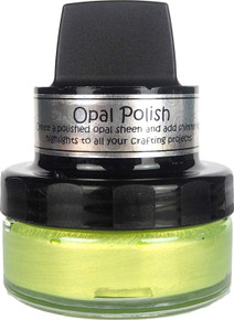 Cosmic Shimmer Opal Polish, YLLW, Yellow Limes