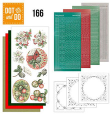 Find it Trading Dot and Do Christmas Decorations DODO166 Hobbydots Card Set