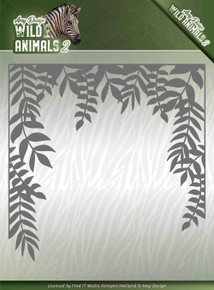 Find It Trading Amy Design Die-Jungle Frame, Wild Animals 2