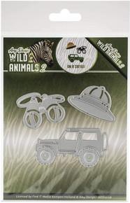 Find It Trading Amy Design Die-On A Safari, Wild Animals 2