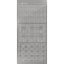 Find It Trading Hobbydots sticker - Mirror - Style 7 - Silver STDM078