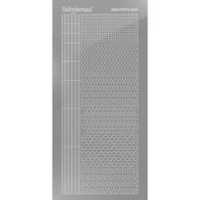 Find It Trading Hobbydots sticker - Mirror - Silver - STYLE 5  STDM058