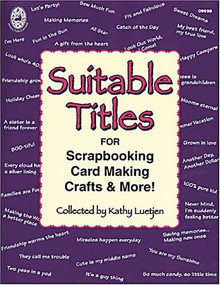 Suitable Titles Kathy Luetjen