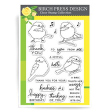 Birch Press Design A Little Birdie Clear Stamp Collection- CL8120