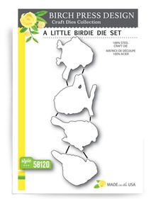Birch Press Design A Little Birdie Cutting Die Set- 58120