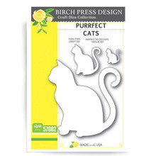 Birch Press Design Purrfect Cats Cutting Die- 57082
