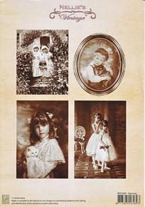 Nellie's Vintage Prints- Dancing NEVI004