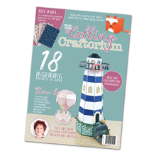 The Cutting Craftorium Magazine with two USB drives for ELectronic CUtting