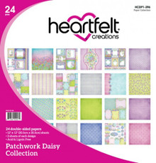 Heartfelt Creations Patchwork Daisy Collection ~ Paper Crafting 12 x 12 Paper Pad