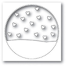 Memory Box Stitched Circle Heartscape Cutting Die Set 99930
