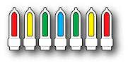 Memory Box Christmas Lightbulb  Dies  98931