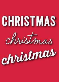 Memory Box Christmas Words DieSet (Called we wish you) Cutting Die Set 30064