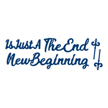 Tattered Lace Die- The End Is Just A New Beginning