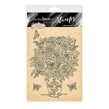 Hunkydory for The Love of Stamps- A Bouquet for You FTLS495