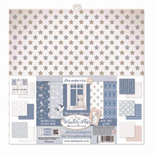 Stamperia Assortiment of 6 Sheets SBB 30,5x31,5 - Winter Star (SBB617 to SBB622)