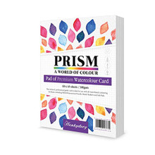 Hunkydory Prism Premium Pad of Watercolour Card - 60 sheets of A5- WCPAD104