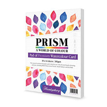 Hunkydory Prism Premium Pad of Watercolor Card - 30 sheets of A4- WCPAD105