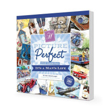 Hunkydory It's A Man's Life Picture Perfect 8x8 Paper Pad PICPERF108