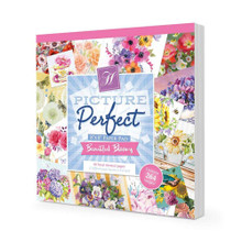 Hunkydory Beautiful Blooms Picture Perfect 8x8'' Paper Pad PICPERF107'