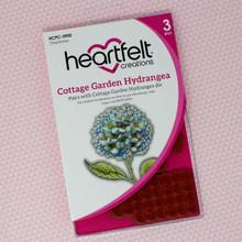 Heartfelt Creations Cottage Garden Hydrangea Cling Stamp- HCPC-3900