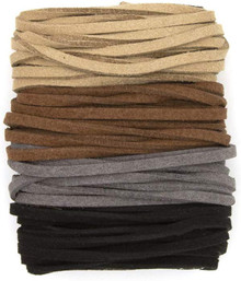 Suede (Faux) Cord assorted colors