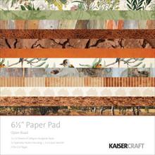 Kaisercraft Paper Pad 6.5'x6.5' 40/pkg-open Road