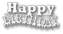 Memory Box Carnival Happy Birthday Die 99626