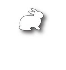 Poppystamp Fluffy Bunny Die 980