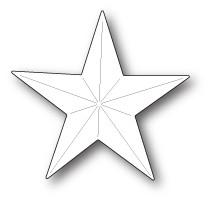 Poppystamp Folk Star Die 1883