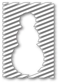 Memory Box Snowman Panel Die 99791
