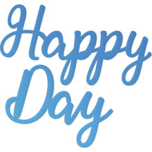 Couture Creations CO726112 Happy Day Mini Steel Die